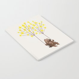 Stars Swing Notebook