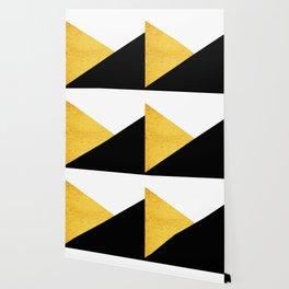 Gold & Black Geometry Wallpaper