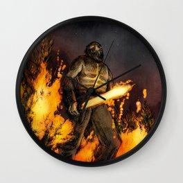 Fire Giant Wall Clock