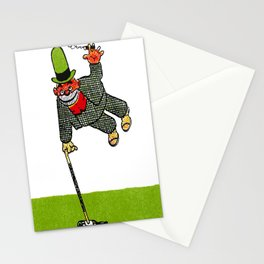 Cartoon comics 6 Stationery Cards