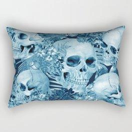 tropic skull Rectangular Pillow