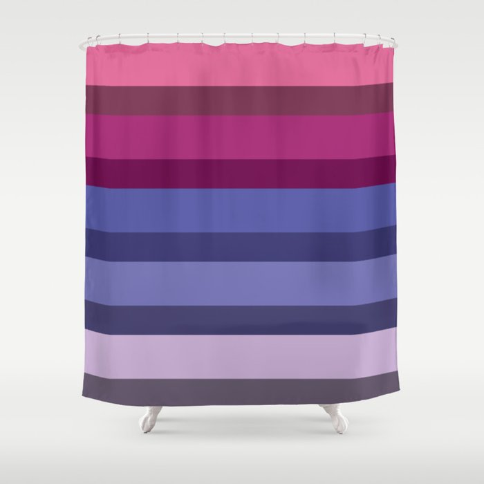 Accordion Fold Series Style G Shower Curtain By Starflyer