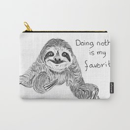 Doing nothing is my favorite Carry-All Pouch