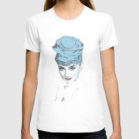 audrey T-shirts featuring Audrey by Susana Miranda ilustración