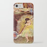 degas iPhone & iPod Cases featuring Dancer with Bouquet by PureVintageLove