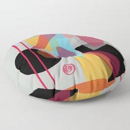 Modern minimal forms 22 Floor Pillow
