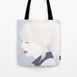 Chevrons and collars. Tote Bag