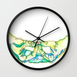 Mida-no Jouin Mudra Wall Clock