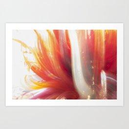Untitled (Glass Blur) Art Print