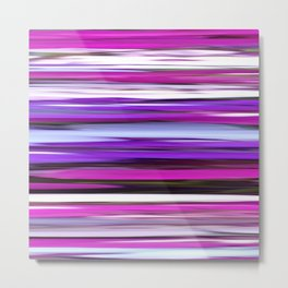 Purple blur Metal Print