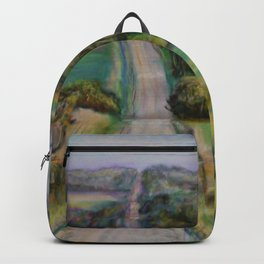 Country Road Across the Hills Backpack