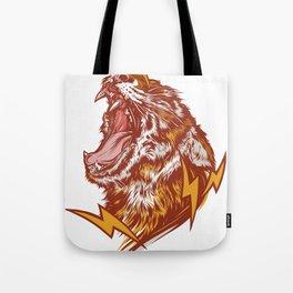 Tiger Shock Tote Bag