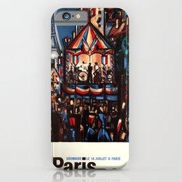 klassisch Paris Bastille Day France Marcel Gromaire iPhone Case