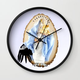 Those Most Sacred are Most Vulnerable Wall Clock