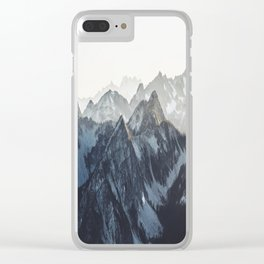 Mountain Mood Clear iPhone Case