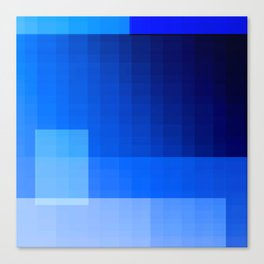 must be blue Canvas Print