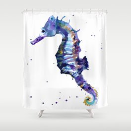 Seahorse Splendor Shower Curtain