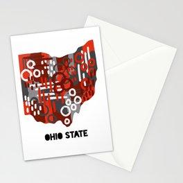 Ohio Buckeyes Stationery Cards