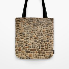 Mosaic Pebble Wall Tote Bag