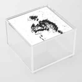 Abstract Soldier (Black) Acrylic Box