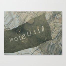Poetic Illusion Canvas Print