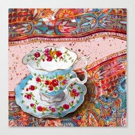Teacup 1 Canvas Print