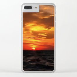 Burned Horizons Clear iPhone Case
