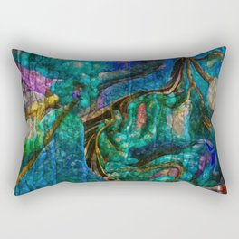 A  Zazzle Of an Abstract by Sherri Of Palm Springs Rectangular Pillow