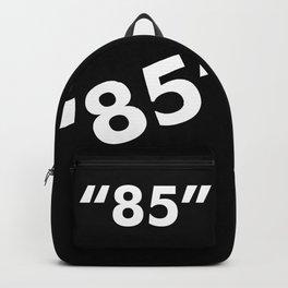 """Beaverton """"85"""" White Backpack"""