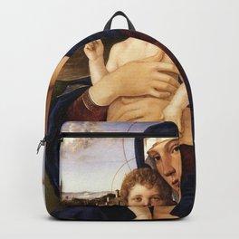 Giovanni Bellini - Contarini Madonna Backpack