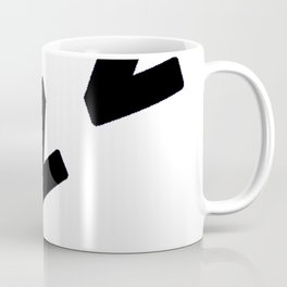 Zzzs in Black Coffee Mug