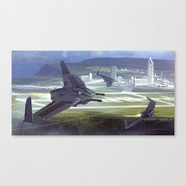 MANTA 2 Canvas Print