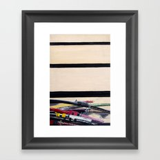 Forced Entry I Framed Art Print