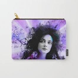 Psychedelic Moments Pink Purple Carry-All Pouch