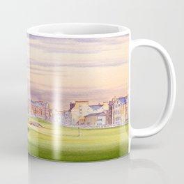 St Andrews Golf Course Scotland 17th Green Coffee Mug