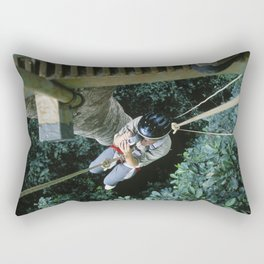 Almost Killed my Wife in Costa Rican Jungles Rectangular Pillow