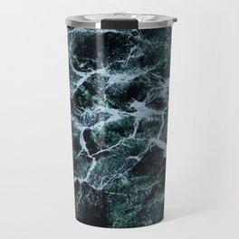 Waves Marble (Color) Travel Mug