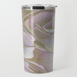 FADED HYDRANGEA CLOSE UP Travel Mug
