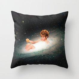 Stars Bathing Throw Pillow