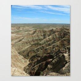 A Rugged Landscape Canvas Print