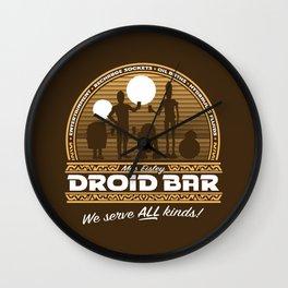 Droid Bar Wall Clock