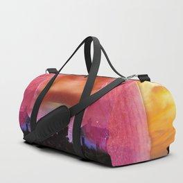 Blushing Sunset Duffle Bag