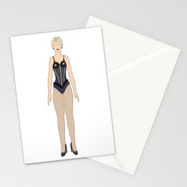 Madge 3 True Blue Stationery Cards