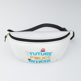 Future Police Officer Future Policeman Policewoman Gift Fanny Pack