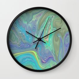 ABSTRACT KITTIE CAT FOR KIDS Wall Clock