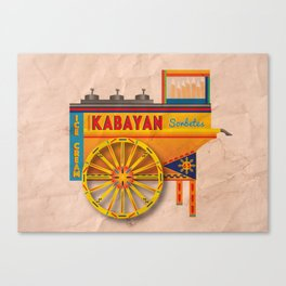 Sorbetes / Traditional Filipino Ice Cream Canvas Print