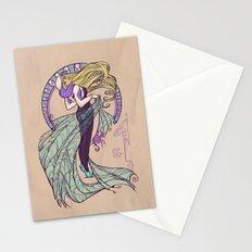 Spider Nouveau Stationery Cards