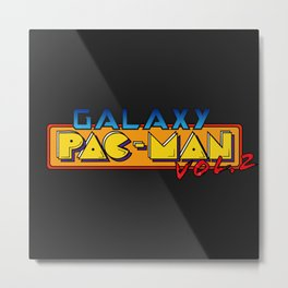 Galaxy Pac-Man Vol2 Metal Print