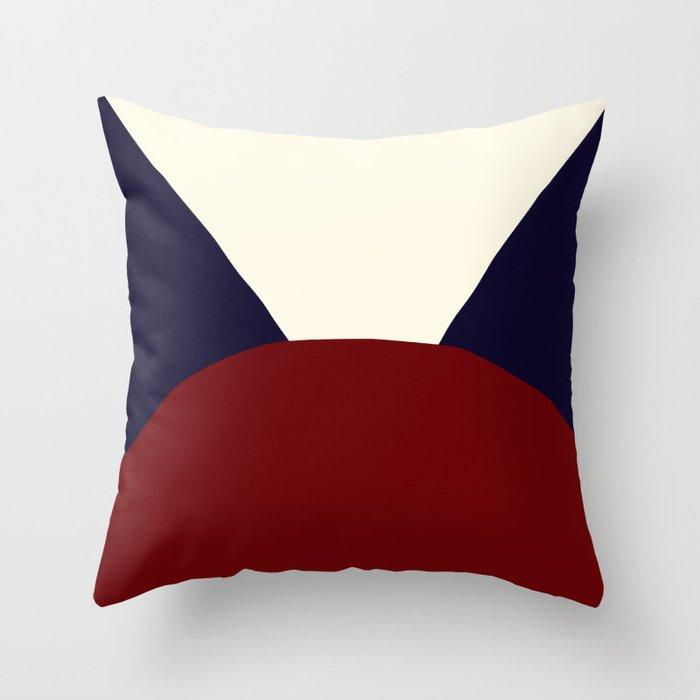 Deyoung Navy Throw Pillow