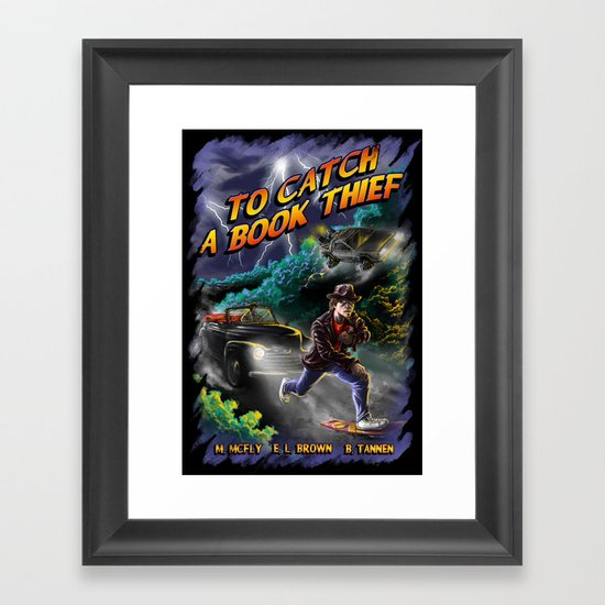 To Catch a Book Thief Framed Art Print